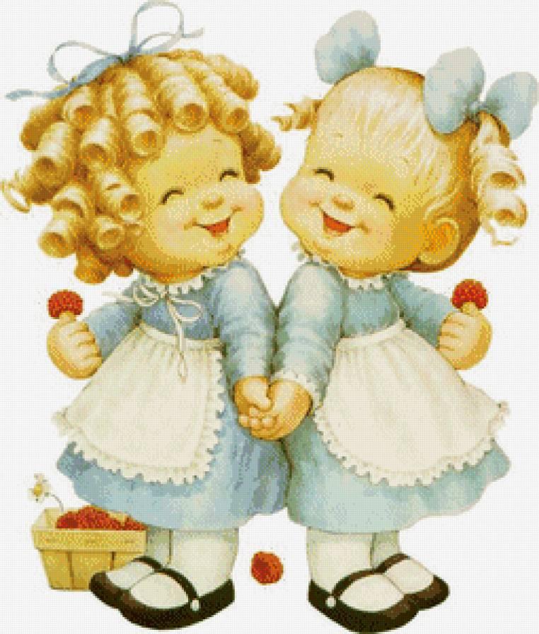 Смешные поздравления с юбилеем сестер двойняшек